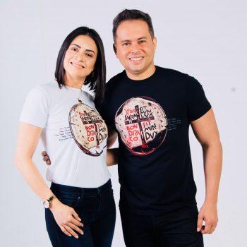 Márcio Mendes e Rose Mary