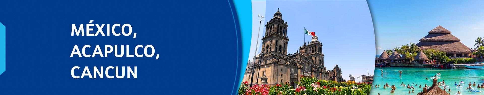 Roteiro de 09/06 – MÉXICO (ACAPULCO – CANCUN) – 13 dias – Pe. Clayton