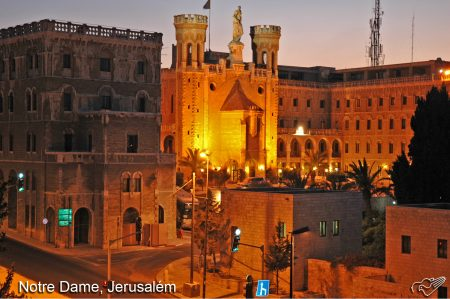notredane jerusalem